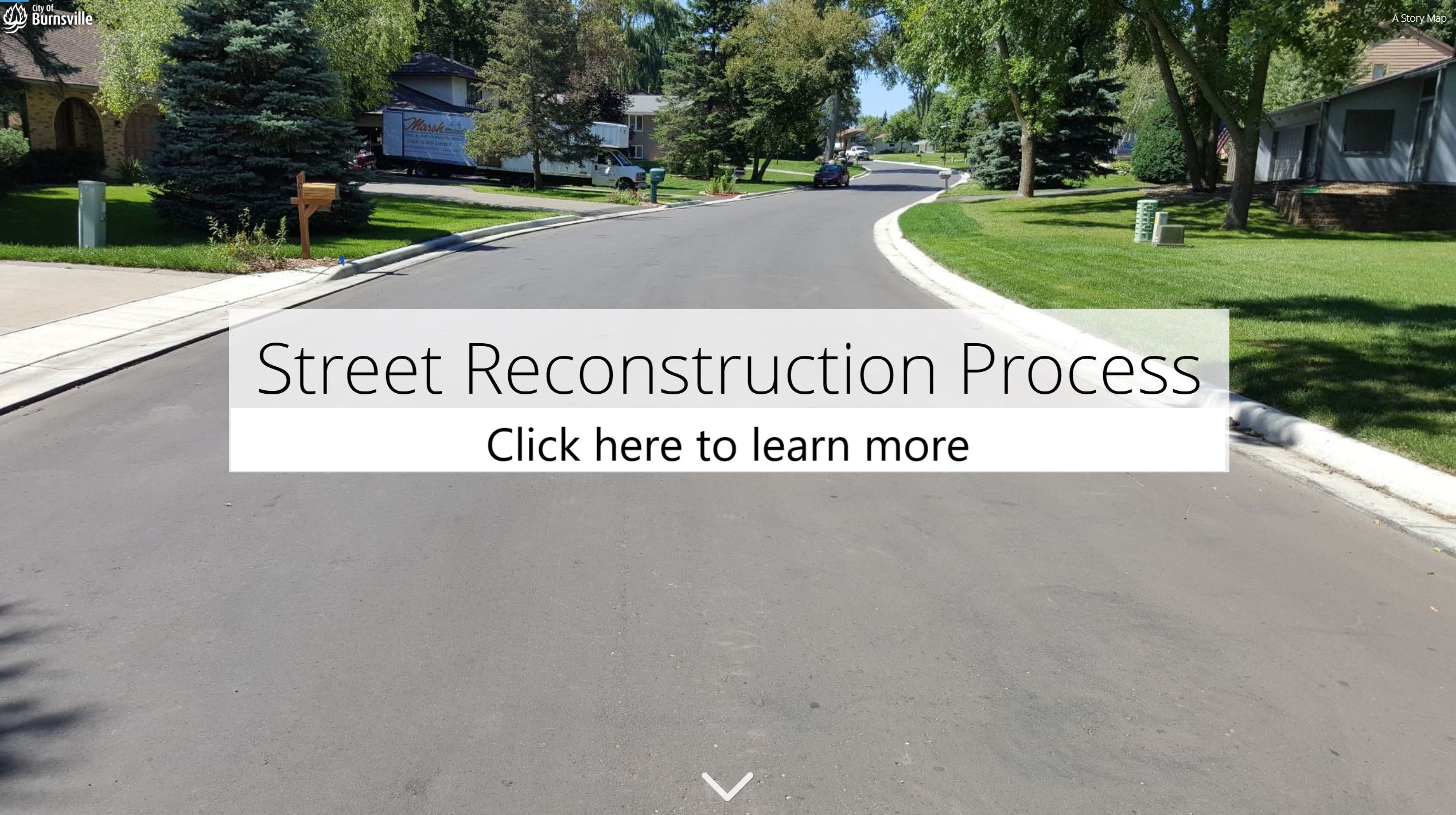 Click here to learn more about the street reconstruction process